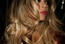 Beyonce / I am going to look into beyonces different hair types and styles.
