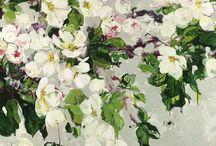 Blomster - maleri