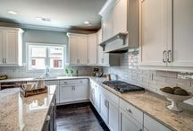 Luxurious kitchens / Beautiful kitchens created by Atlanta, Georgia home builder, Rockhaven Homes