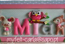 decoración puerta o pared  para niños