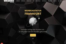 Wesebo.de / Wesebo - Werbeagentur Frankfurt • Webdesign • Online Shop • Seo (Suchmaschinenoptimierung) • Printdesign • Logo Design • Film & Foto