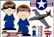 Military Digital Clip Art Graphics Cute / Patriotic Military Clipart: Cute graphics featuring our men and women of the U.S. Armed Forces. Clipart military equipment, seals, etc. for all five armed service branches: Air Force, Army, Coast Guard, Marine Corps, and Navy.