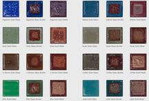 Anna Cabo Art Glass Tile / Anna Cabo finds the right balance between craft and environment in their innovative collection of recycled glass tiles.