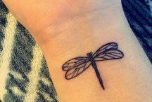 Tetování Vážky