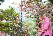 save the date cherry blossom