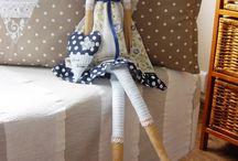 Tilda doll, a jiné panenky