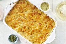 Potato and veggie dishes