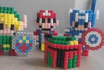 Pixel Arts / Artesanias 100% hechas a mano confecionadas con pixel arts
