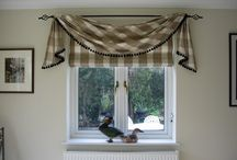 At the top...... / Top treatments - pelmets, valances, swags, trimmings and other decoration