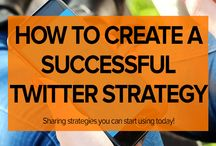 Social Media | Twitter / Social Media Twitter tips, strategies and ideas to help creative entrepreneurs and small business owners gain followers and  market their businesses.