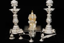 Silver Puja Items