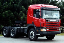 T SCANIA TRUCKS T (Day Cab) series / Trucks of the swedish brand SCANIA,Normal Cabin series.
