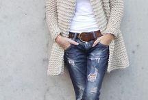 moda con tejido
