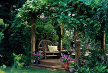 Outdoor Design and Decor / Sheds...seating...dining...birdhouses...gates...