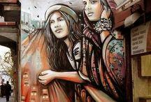 Street Art - B -Pouliční umění, Grafiiti