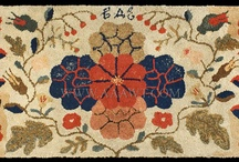 Rug hooking / by Kerry Paoletta