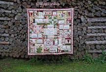 Leannes House Quilt made with love by Cattinka / Leannes House Quilt genäht von Cattinka www.cattinkakw.blogspot.de