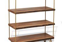 hairpin bookshelf