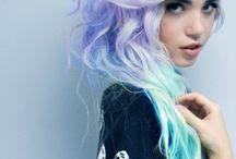 Παστέλ μαλλιά