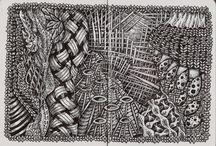 creative: doodling/zentangle/drawing