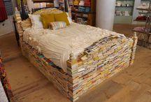 Artsy crafty ways with books
