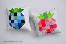 Quilting Inspiration & Admiration / Quilting tutorials, Free patterns, quilting tips #quilting #sewing #tips #patterns