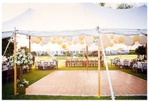 Dreamy outdoor wedding