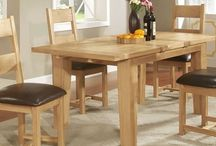 French Farmhouse Collection / Deliciously rustic with a French Farmhouse style, this collection radiates sophistication and elegance. Built from exquisite solid oak, the collection includes a delightful range of living and dining room furniture, and embraces some charming unusual pieces like a console table with wine store and various beautiful freestanding kitchen pieces. http://www.hampshirefurniture.co.uk/collections/french-farmhouse-collection