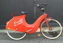 BC Aluetta Vetroresina / Biciclette fixed single speed Bike cycle