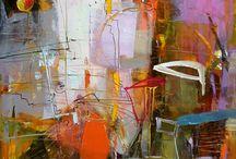 Peintures abstraites