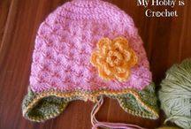 Crochet and knitting  baby stuff