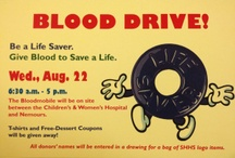 Successful Blood Drive ideas / by Michele Praster March