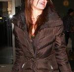 DANIELLE VASINOVA at LAX Airport in Los Angeles