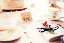 table settings / by The Details Gal