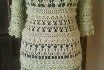 Robes en crochet