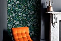 Imogen Heath |  Collection / Inspired by her travels as well as the everyday natural surroundings, Imogen Heath's organic and geometric patterns have an enduring, timeless appeal. Bursting with colour from across the spectrum, the designs are a nod to mid twentieth century design.