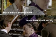 I'm Down With Downtown Abbey / Granny Grantham and the gang from Downtown Abbey give me life!