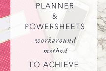 Powersheets Ideas and Quotes
