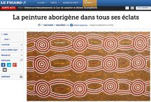 PRESS & NEWS / News on Aboriginal Art #contemporary #aborigene