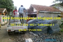Jual Kawat Bronjong Pabrikasi