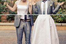 Kreative Hochzeitsfotos - Fotoideen