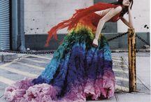 Sewing: Rainbow Dress