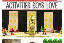 boys will be boys / by Crystal Pacarro