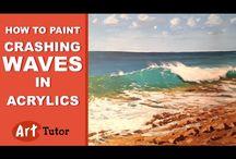 crashing waves tutorial