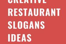 Creative Restaurant Slogans Ideas