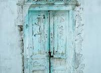BLUE....doors and windows / by Nancy Grenda