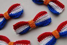 strik Nederlandse vlag