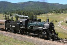 Choo Choo Trains / Romancing the rails! On the right track!