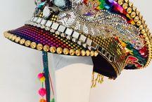 Burning Man hat
