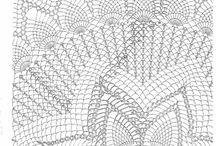 Toalhas de Mesa em Crochê / É tudo de belo!